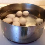 cold water method of boiling eggs