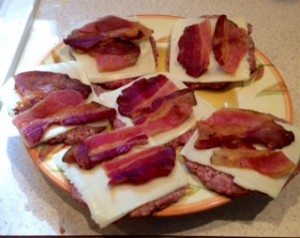 Inside out Bacon Cheeseburgers 2